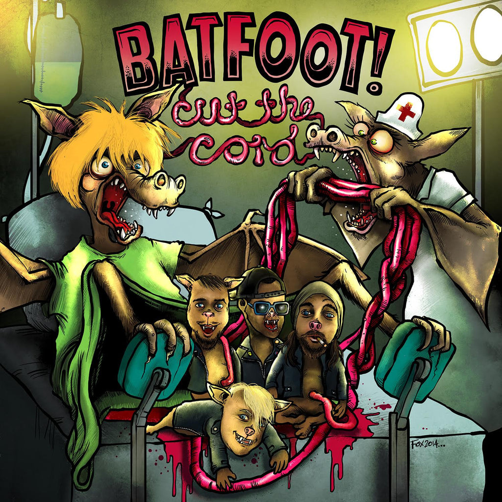 Batfoot! 'Cut The Cord' CD
