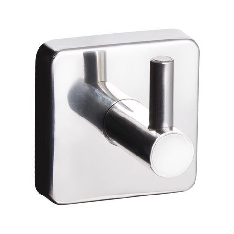 Kapitan Quattro Single Robe and Towel Hook - bath-accessories.co.uk