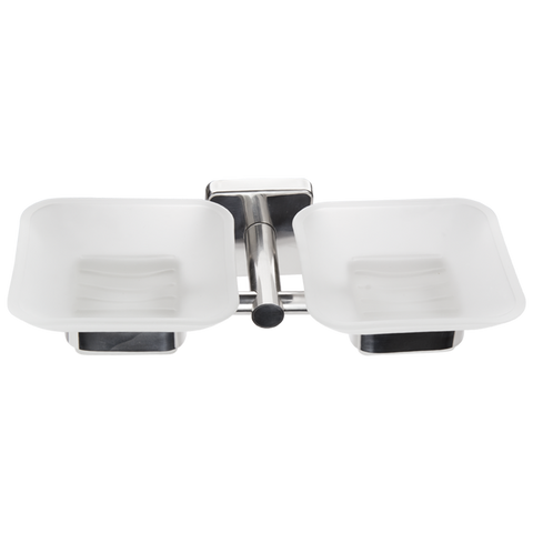 Kapitan Quattro Double Soap Dish and Holder - bath-accessories.co.uk