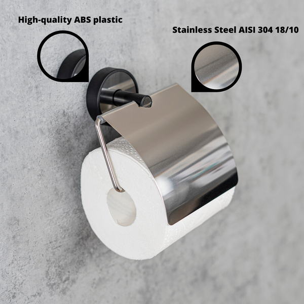Kapitan Optimo Toilet Roll Holder with Cover