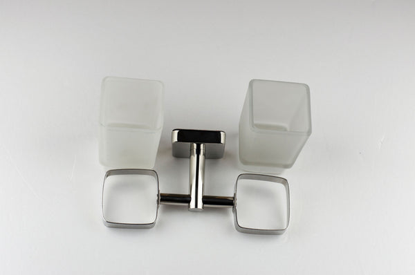 Kapitan Quattro Double Toothbrush Holder - bath-accessories.co.uk