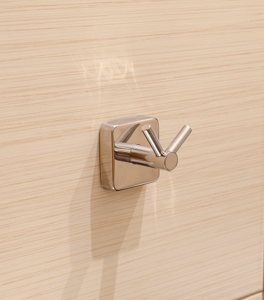 Kapitan Quattro Double Robe and Towel Hook - bath-accessories.co.uk