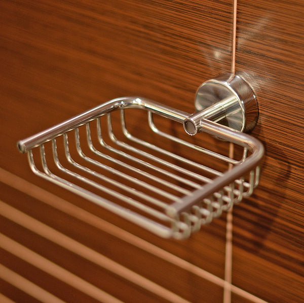 Kapitan Stainless Steel Soap Dish, Wall Mounted Soap Tray
