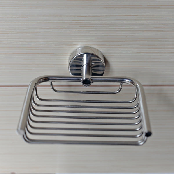 Kapitan Stainless Steel Soap Dish, Wall Mounted - bath-accessories.co.uk