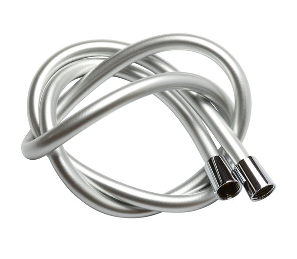 Krodo 1.5M/59 Inch Silver PVC Shower Hose - bath-accessories.co.uk