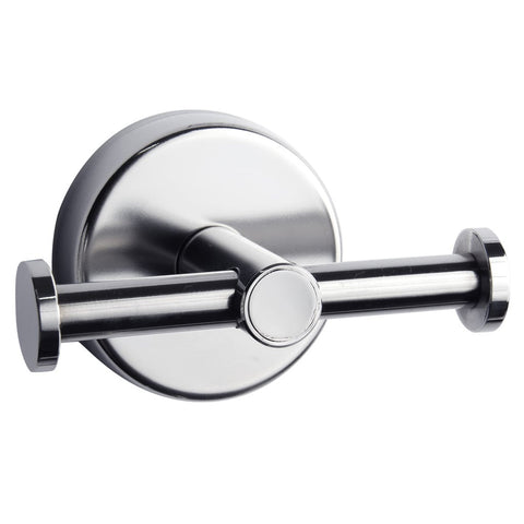 Kapitan Modern Double Bathroom Towel and Robe Hook - bath-accessories.co.uk