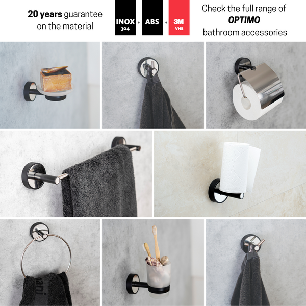 Kapitan Optimo Single Robe and Towel Hook