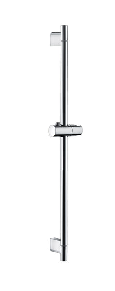 RBN Shower Riser Rail with Height Adjustable Sliding Handset Holder Bracket, Chrome Finish - bath-accessories.co.uk