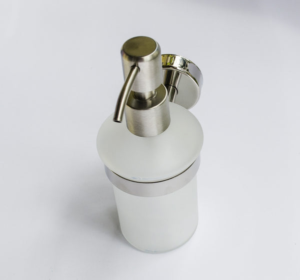 Kapitan Wall Mounted Soap Dispenser with Holder - bath-accessories.co.uk