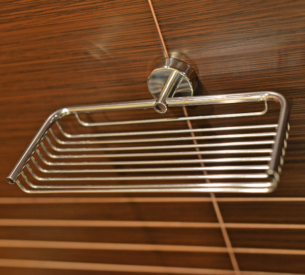 Kapitan Stainless Steel Bathroom Shower Caddy - bath-accessories.co.uk