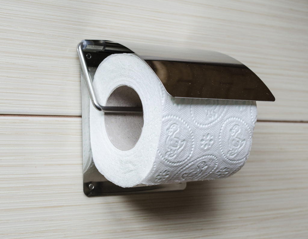 Kapitan Toilet Roll Holder with 3M Self Adhesive Backing - bath-accessories.co.uk