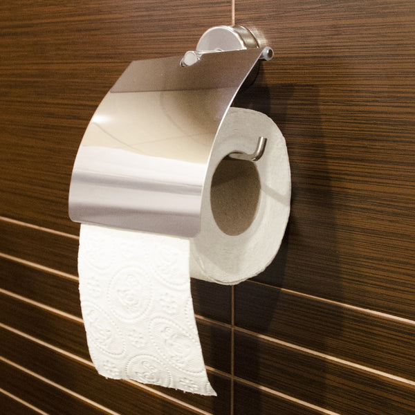Kapitan Toilet Roll Holder with Cover - bath-accessories.co.uk