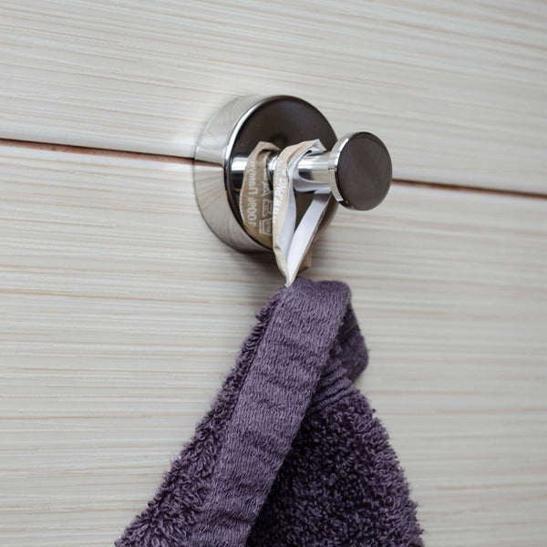 Kapitan Single Robe and Towel Hook - bath-accessories.co.uk