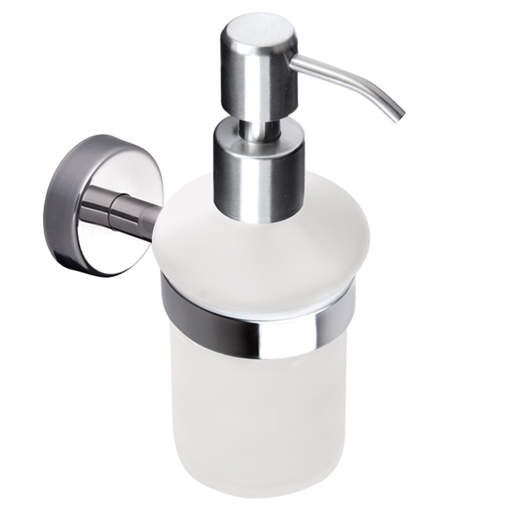 Great Kapitan Wall Mounted Soap Dispenser With Holder   Bath Accessories.co.uk