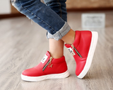 Super Trendy Kids Fashion Boots With Star Zipper-Kids Footwear-Kids Bargain World
