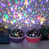 Starry Sky LED Night Light Projector for Kids Room