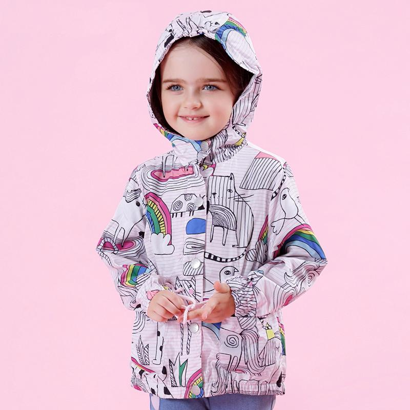 Kids LaLa Rainbow Coat (2-7 Years)-Kids Jackets-Kids Bargain World