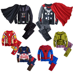 2017 Kids Super Hero Pyjamas 2-8 Y-Kids Bargain World
