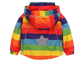 Kids Rainbow Rain Coat-Kids Jackets-Kids Bargain World