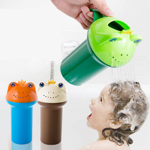 Cute Cartoon Water Bottle Head Washing Toys for Baby