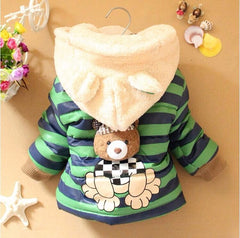 New Winter Super Adorable Teddy Bear Jacket-Kids Clothes-Kids Bargain World