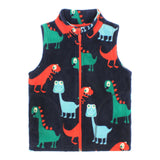 Kids Fleece Waistcoat 5 Styles-Kids Bargain World