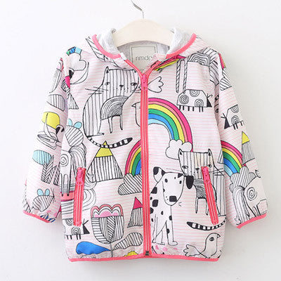 Kids 'It's A Beautiful Day' Summertime Jacket-Kids Jackets-Kids Bargain World