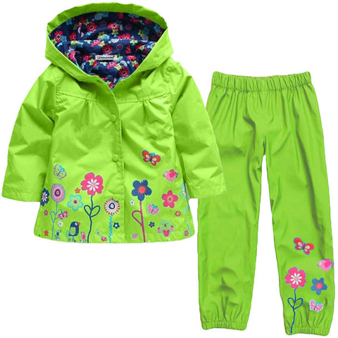 Adorable Kids All Year Rainsuit 1-6 Years