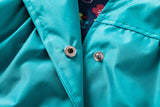Beautiful Spring/Summer Flower Rain Jacket For Kids 2-6 Y-Kids Bargain World