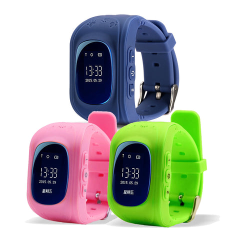 GPS KIDS TRACKER SMART WRISTWATCH