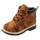 Cool Kids Army Timberland Style Boots-Kids Bargain World
