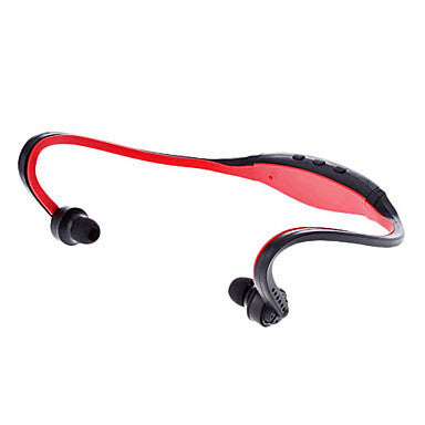 Rechargeable Slim Sport MicroSDHC TF Card MP3 Player Stereo Headphone (Assorted Color)