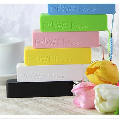 2600mAh Mini Portable Power Bank external battery for iphone 6/6 plus/5/5S/Samsung S4/S5/Note2