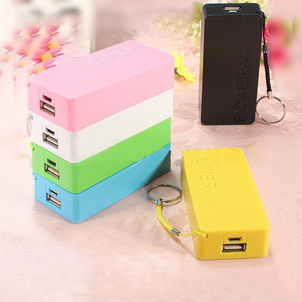 5600mAH Cellphone Battery Portable External USB Universal Backup Power Bank