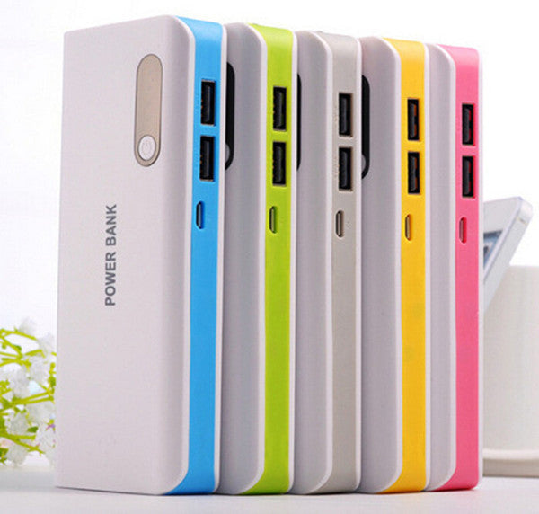 Dual USB external 16800mah battery power bank portable charger backup powerbank for smart phone/iPhone