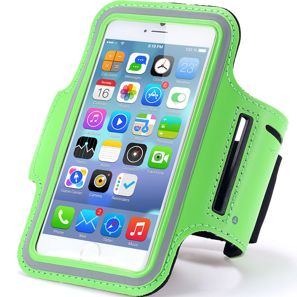 Waterproof Sports Running Armband Leather Case For iphone 6 4.7 inch Mobile Phone Holder Pounch Belt