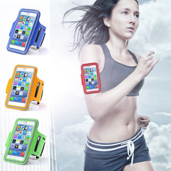 Waterproof Sports Running Armband Leather Case For iphone 6 4.7 inch Mobile Phone Holder Pounch Belt GYM Fashion