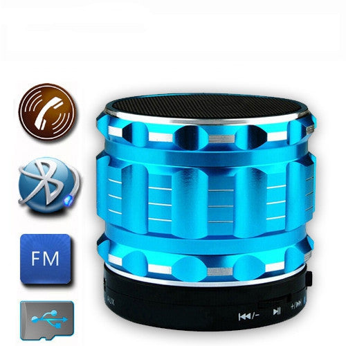 Bluetooth Speakers Metal Steel Wireless Smart Hands Free Speaker With FM Radio Support SD Card For iPhone