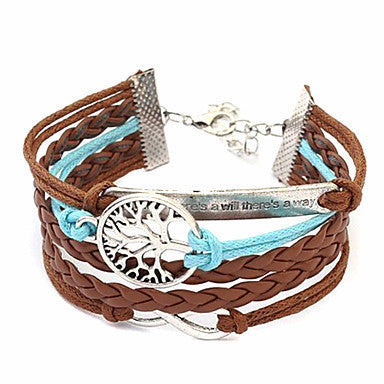 Sweet 7Cm Women'S Multicolor Fabric Wrap Bracelet