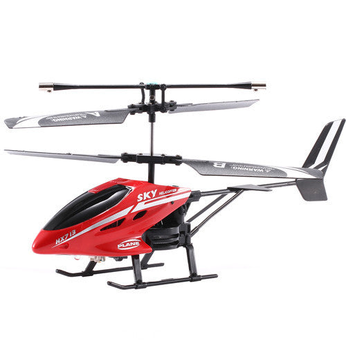 2.5CH RC Helicopter Remote Control Helicopter Radio Control Metal HX713 RC Helicopters With Light