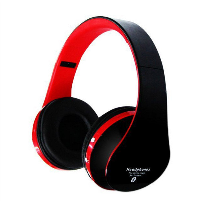 Bluetooth Headphones Headband Headsets Support TF card FM Radio Hands-Free MP3 Player Super Bass HiFi Sound
