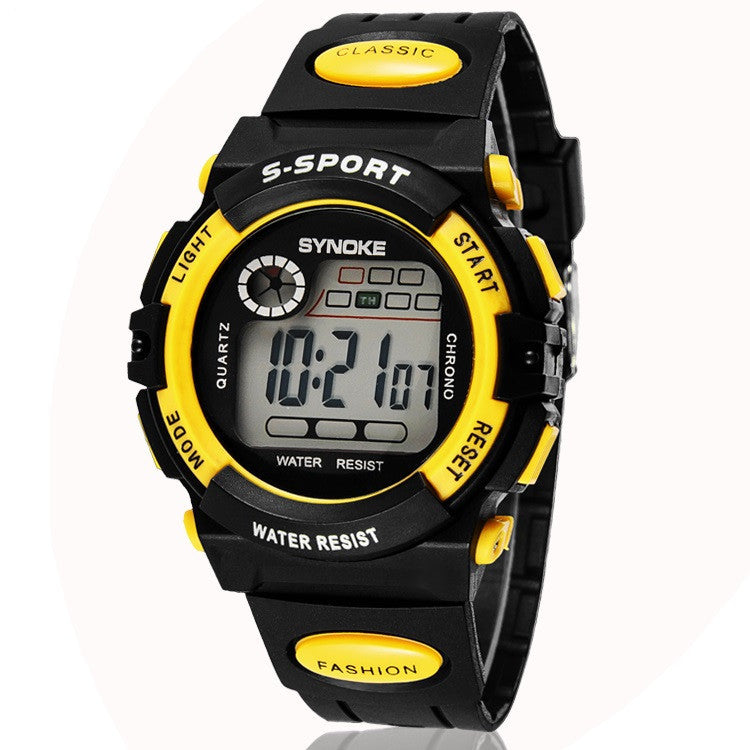 Children's digital Watches Super dive 30 M waterproof outside sport cartoon watches boys girl's Watches