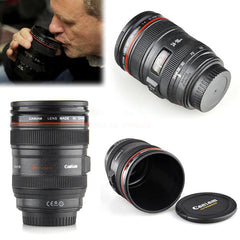 1:1 EF 24-105mm F/4.0L Coffee camera lens mug cup