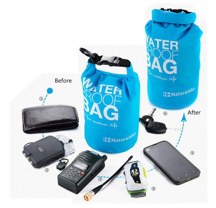 New Small Ultralight Rafting Bag Waterproof Bag Dry Bag