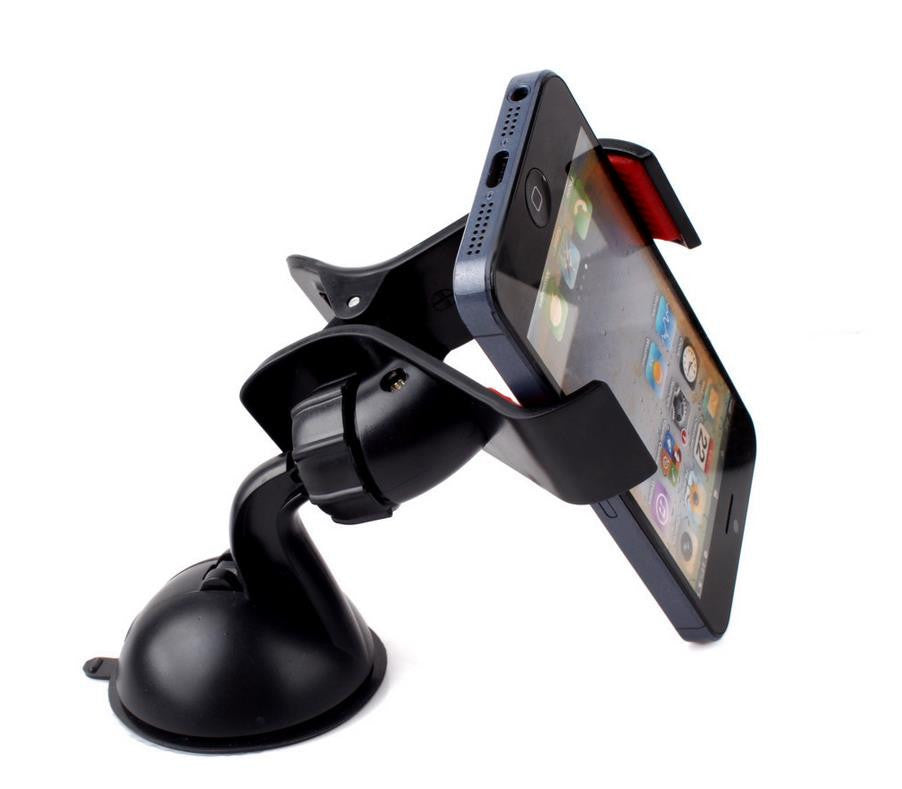 Universal Car Windshield Mount Holder Bracket for Mobile Phone MP4 MP5 GPS