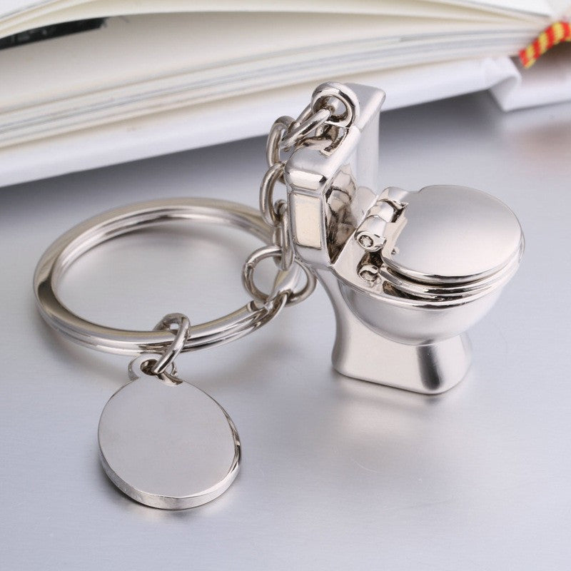 Mini Toilet Keychain Fashion Keychain Male Gift ideas