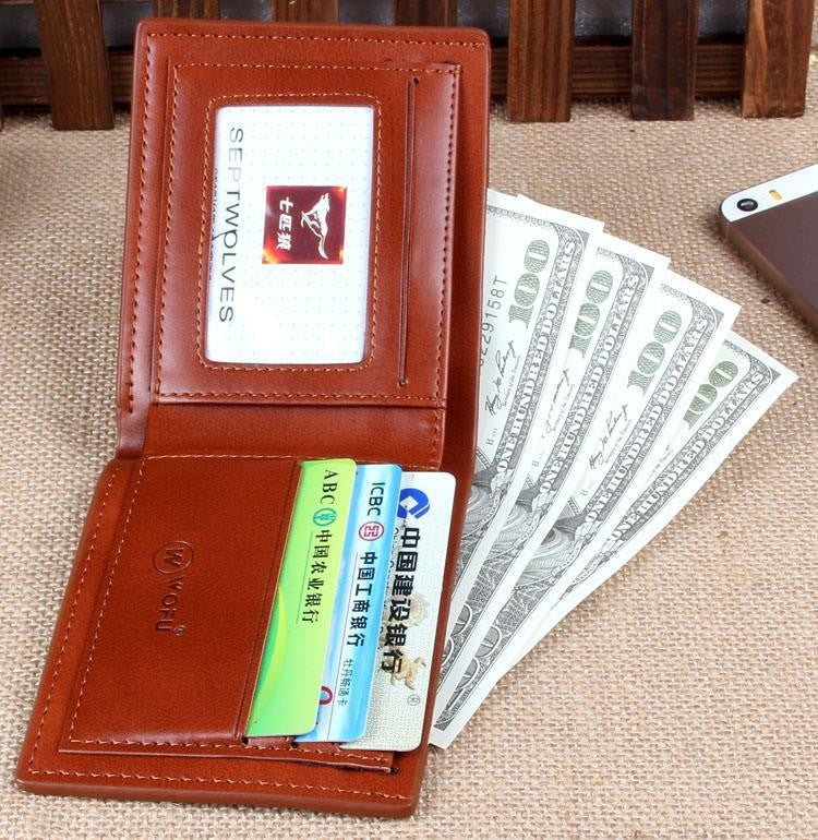 Mens Brand Cowhide Wallet,Men's Genuine Leather With Pu Wallets For Man Purse/Wallet Men Wallet Cowhide