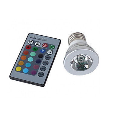 3W 150LM RGB Light LED Spot Bulb (110-240V)