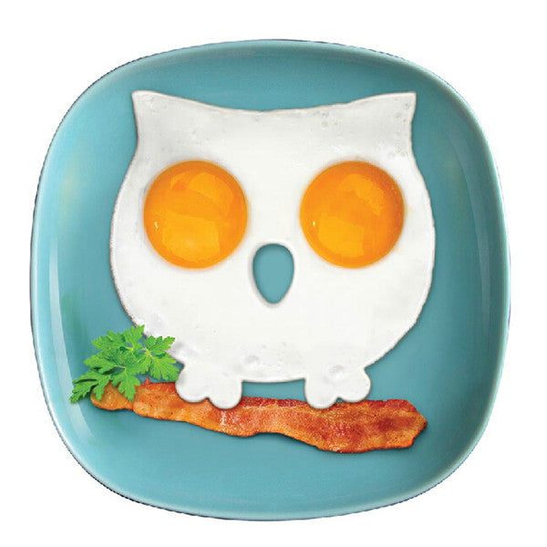 High Quality Silicone Mold Owl Egg Ring Breakfast Eggs Mould Cooking Tools For Gift Novelty