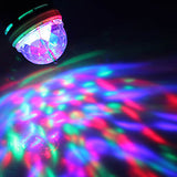 3W Colorful Light Autorotation Mini LED Bulb for Disco Party Stage